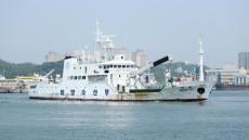 한빛호, 독도탐방·동해안 등대 점검차 911마일 대장정 돌입