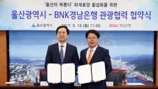 BNK경남은행-울산시, '울산 방문의 해 관광 협력사업' 업무협약