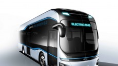 현대차, 전동화 기반 친환경 버스 렌더링 이미지 최초 공개