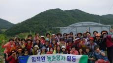 울산 범서농협 임직원·여성대학 회원, 농촌봉사활동
