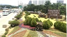 [포토뉴스]만개한 여름 꽃 구미도심 물들이다.