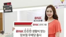 BNK금융 경남銀·부산銀, 'BNK든든한 생활비 받는 암보험(무)' 판매