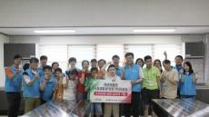 NH울산농협 사랑나눔봉사단, 태연재활원에 싱크대 기증