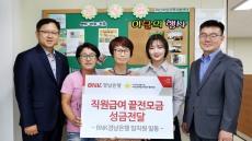 BNK경남은행, 울산·경남지역 복지기관에 성금