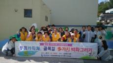 울산항만공사, 선암동 주민들과 '벽화 그리기' 활동