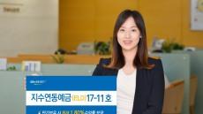 NH농협은행, '지수연동예금 17-11호' 출시