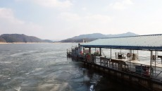 안동댐 결빙으로 도선 운항 일부 단축