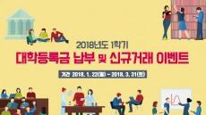 BNK경남은행, '1학기 대학등록금 납부·신규거래 이벤트'