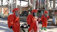 울산석유화학단지, 특수사고 대비 종합훈련