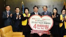 BNK경남은행, '2018년 대한적십자 특별회비' 납부