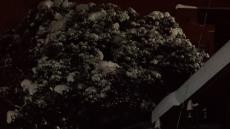[포토뉴스]폭설에 끊긴 버스, 눈 덮인 섬마을 버스승강장