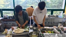 호산대, 외국인 유학생 전용식당 운영