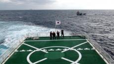 동해해경 독도에서 고장 어선 예인· 묵호항 동쪽서 중국인 부상 선원 이송