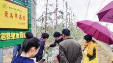 봉화군 농업기술교류단 中 동천시 방문