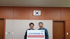 울산도시공사, '메세나 운동' 지원금 전달