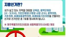 6.13지방선거 울릉군 선거인수 9천57명····다음달1일 선거인 명부 확정