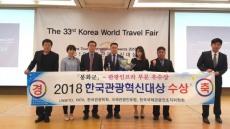봉화군, 한국관광혁신대상 인프라 부문 우수상 수상