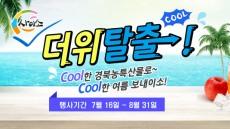 경북지방우정청, 도농특산물 COOL한 여름나기 기획전 개최