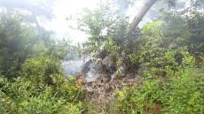 영주경찰 순찰 돌다 대형 산불 막았다.