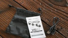 아웃도어를 제대로 즐기자, 골전도 블루투스 헤드폰 '브리츠 HSB2'