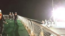 독도해상서 선원9명탄 표류어선 무사 구조