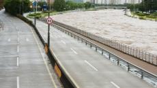 태풍 '콩레이' 영향 대구경북 도로 곳곳 통제…대구 신천동로 등 침수·여객선 운행 중단