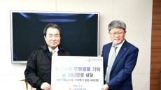 한국전력기술 에너지신사업본부, 김천시에 후원품 전달