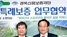봉화군 ↔경북신용보증재단 소상공인 특례보증 협약