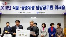 예천군, 경북도 주관 식품·공중위생사업 평가 '최우수'선정