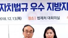 울릉군, 우수 조례 법제처장상 수상