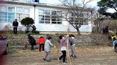 영주교육지원청 폐지학교 3곳 선정 수목관리행사....녹색 교육환경 조성