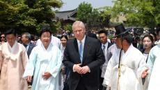 영국 앤드루 왕자, 안동 하회마을 방문