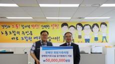 대구은행 노조, 장애인복지 후원금 5000만원 기탁