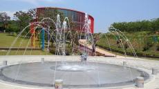 상주곶감공원 바닥분수 25일 본격 가동