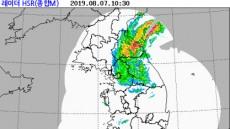 대구경북 오전까지 비…태풍 '프란시스코' 피해없이 소멸