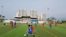 경산시, 제1회 한·중 국제 유소년 축구대회 진행