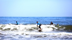 '서핑 핫플레이스' 포항 흥해 용한리 해변에 전국 서퍼들 온다