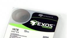 10TB 중반의 벽을 깬 HDD, 씨게이트 Exos X16
