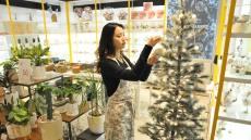 롯데백화점 대구점, 크리스마스트리 만들기 클래스 진행