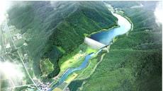 전국 지자체 첫 시행 '봉화댐' 공사 한창 …499억원투입 2024년 완공