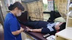 부족한 혈액수급돕자...한국철도 경북본부, 영주역 광장서 '사랑의 헌혈' 행사