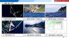 동해해경,암초·장애물 등 위험지형 표시지도 제작·배포....민간공유 연안 사고예방