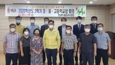 '안전한 학사운영에 힘 모은다' 울릉교육청 학교장 협의회