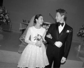 비♥김태희 가회동 성당, 영화 한 장면 같은 결혼식 '아름다워'