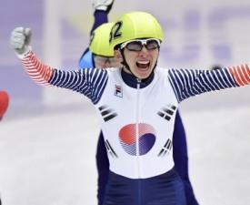 [삿포로AG] 쇼트트랙 박세영, 남자 1,500m 金...이정수는 동메달