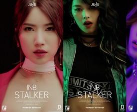 쥬스TV, 신예 걸그룹 1NB '스토커' 세로 영상 공개