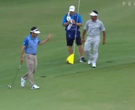 최경주-위창수 PGA 취리히클래식 2R 공동 선두