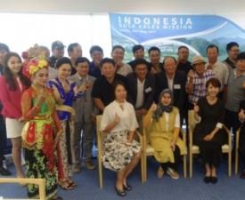 인도네시아 골프 관광 세일즈 행사