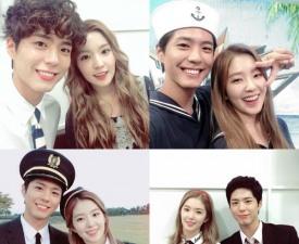 박보검 아이린, 커플샷 모아보니…'열애설 안 난 게 신기할 정도'
