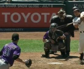 [MLB] 샌프란시스코 황재균, 메이저리그 '생애 첫 홈런' 신고